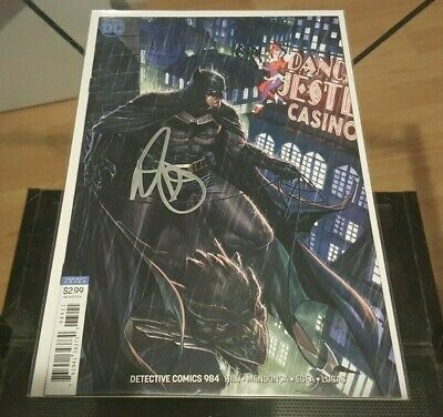 Detective Comics (Batman) #984 Variant Signed by Mark Brooks NM
