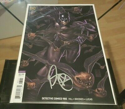 Detective Comics (Batman) #985 Variant Signed by Mark Brooks NM