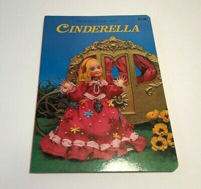 Vintage The World of Fairy tales Cinderella Puppet Board Book – Rose Art Studios