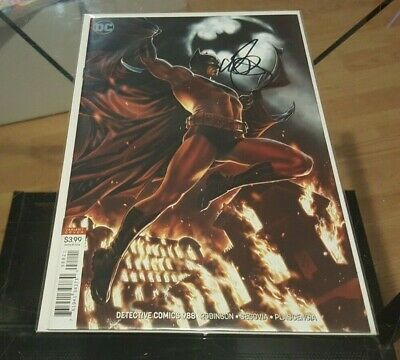 Detective Comics (Batman) #988 Variant Signed by Mark Brooks NM