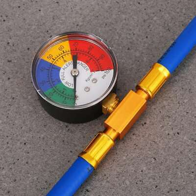 Car R134A Hose A/C Air Condition Refrigerant Recharge Hoses Tool With Gauge 2019