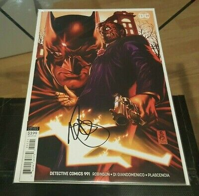 Detective Comics (Batman) #991 Variant Signed by Mark Brooks NM