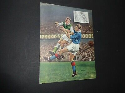 Laurie Reilly Hibernian & SCOTLAND signed full page colour book illustration