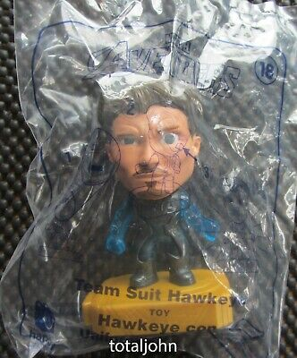 McDonalds Avengers #18 Team Suit Hawkeye Happy Meal Toy New Unopened Package