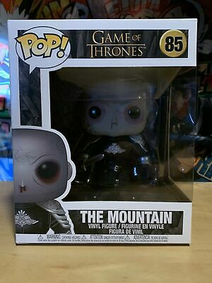 Funko Pop 6 inch Mountain Unmasked Game of Thrones w/Protector {Pre-Order}