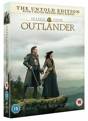 Outlander Season 4 DVD with Special Features New Sealed Fast & Free Delivery