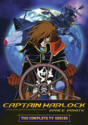 Space Pirate Captain Harlock: The Complete TV Series (DVD, 2013, 6-Disc Set)
