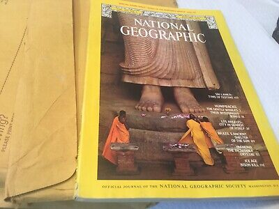 National Geographic -  12 Copies 1979 Full Year