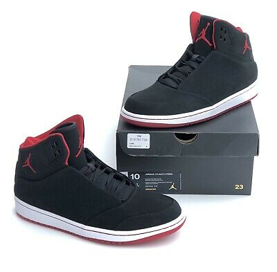 9f4ef41b838 NEW NIKE JORDAN 1 Flight 4 Premium Shoes Mens Gym Red/Black Size 11 ...