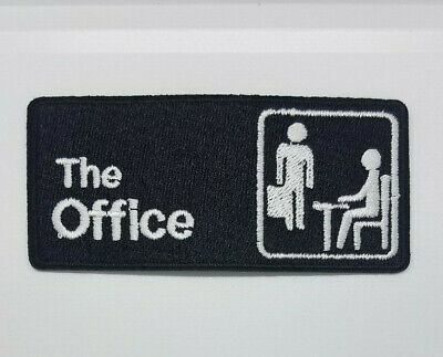 The Office Patch 4 inches wide