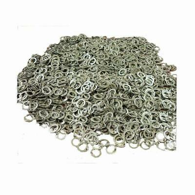 Medieval Battle Flat Riveted Chainmail Ring 10 MM 1000 pcs