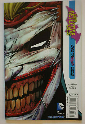 Detective Comics #15 Death of the Family Die Cut Joker NM DC New 52 2013