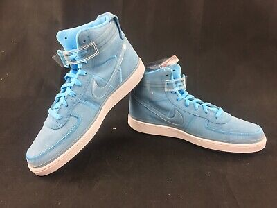 380661d5bd4e9 NIKE VANDAL HIGH Inside Out Blue Chill White AT4614-400 Size 12 ...