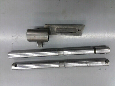 Armstrong Lathe Boring Bar Holder With 2 Bars