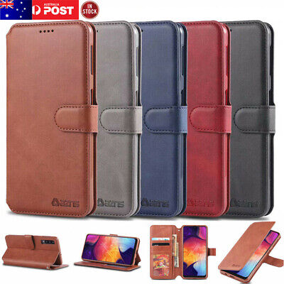 For Samsung Galaxy A50 A30 A20 A70 A10 Magnetic Wallet Flip Leather Case Cover