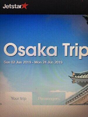 Return Airline Tickets from Cairns to Osaka