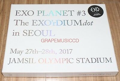 EXO PLANET #3 THE EXO'rDIUMdot in SEOUL K-POP LIVE 2 CD + PHOTOCARD + PHOTOBOOK
