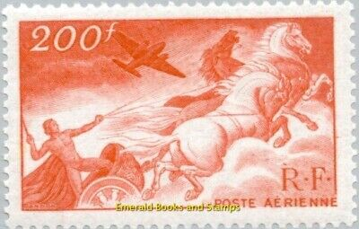 EBS France 1946 Airmail - Apollo driving the chariot of the sun YT PA19 MNH**