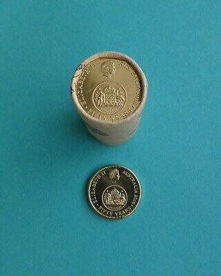 Australian 2016 $1 One Dollar Coin Changeover From RAM Roll RARE