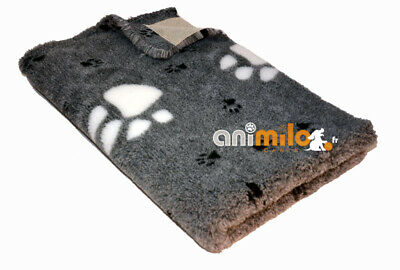 tapis Confortbed Dry Best Bed Extra 26 mm gris grosses pattes 50x75 cm