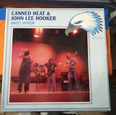 Canned Heat & John Lee Hooker ‎– Sweet Sixteen  Lp Platinum ‎ Come Nuovo