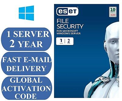 ESET File Security for Microsoft Windows Server for (2 Years)