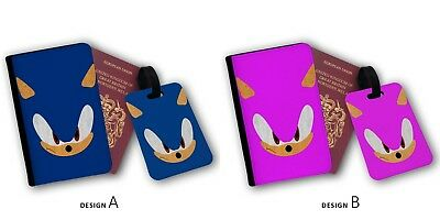 Sonic The Hedgehog Travel Accessories Luggage Name Tag Red 3 00 Picclick