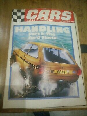 Cars And Car Conversions April 1978 Ford Fiesta feature