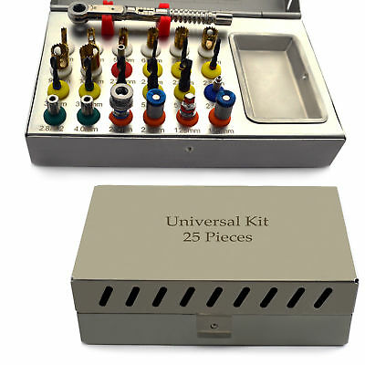 Basic Dental Implant Kit Universal tools & Instruments Surgical Sterilization CE