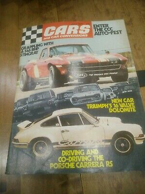 Cars And Car Conversions July 1973