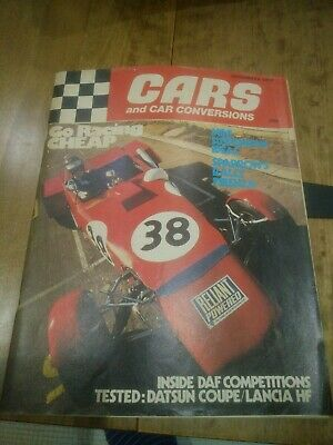 Cars And Car Conversions December 1972
