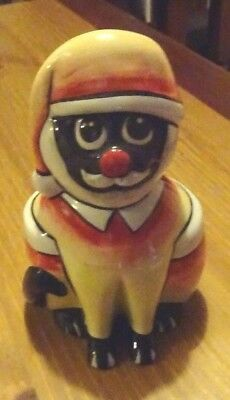 Lorna Bailey Limited Edition 2/2 SANTA CAT Excellent Condition FREE P&P
