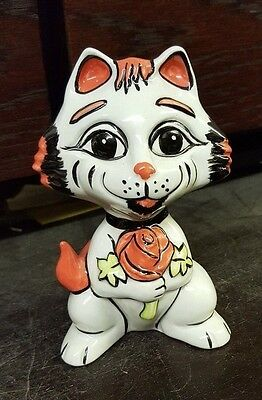 Lorna Bailey England St George Cat Limited Edition 46/75 FREE P&P