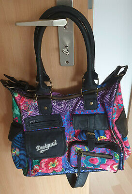 buying new 50% off reputable site DESIGUAL BOLS LONDON Floreada Carry Tasche in blau *LOOK ...
