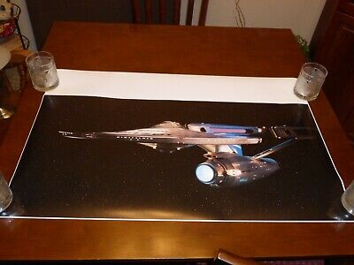 Star Trek The Motion Picture Enterprise refit epson photo poster 36x18
