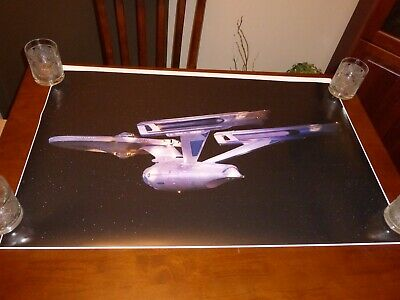 Star Trek The Motion Picture Enterprise refit epson photo poster 36x23