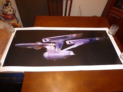 Star Trek The Motion Picture Enterprise refit epson photo poster 46x20 in 50x24