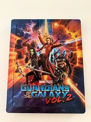 Guardians Of The Galaxy Vol.2 - Blufans Exclusive 3D + 2D Blu Ray Steelbook