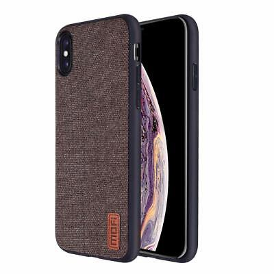 Brown Case For iPhone Xs Max Anti Scratch Shockproof Full Body Protect Silicone