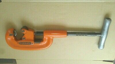 Refurbished RIDGID 2A 202 Heavy Duty PIpe Cutter 1//8-2 IN MADE IN USA 32820