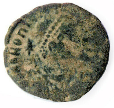 Ancient Byzantine Coin Of Honorius - Bronze Coin  #Wt2605