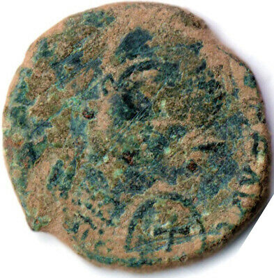 Ancient Byzantine Coin Of Honorius - Bronze Coin  #Wt2606