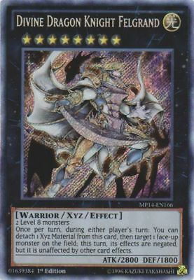 Divine Dragon Knight Felgrand MP14-EN166 Secret Rare NM Yugioh