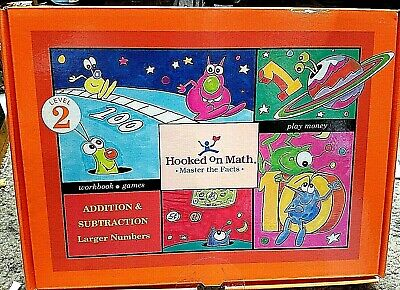 New Sealed! Hooked On Math Level 2 Addition & Subtraction Gateway Learning Corp