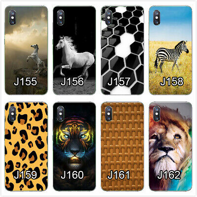 For Alcatel 3C 3V/5099U 1X 5 1X 1C A30 5V soft case horse tiger black and white