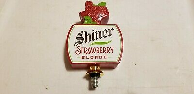 Shiner Strawberry Blonde Tap - NEW! NEVER USED!