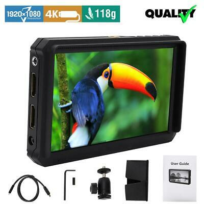 Lilliput A5 5 Inch 1920x1200 DSLR Mirrorless Camera Field Monitor 4K HDMI input