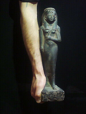 EGYPTIAN ANTIQUE ANTIQUITIES Queen Tiye Statue Figure Sculpture 1549-1109 BC