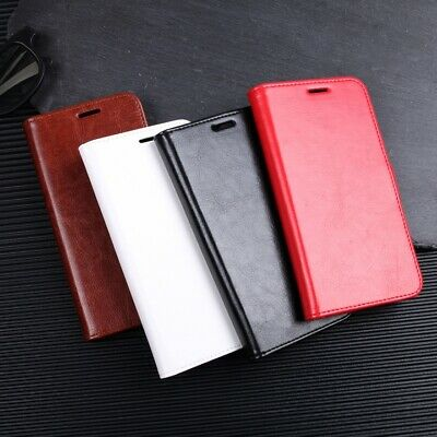 Leather Case Samsung Galaxy S8 S9 S10 A8 2018 Plus Magnetic Flip Cover/Wallet
