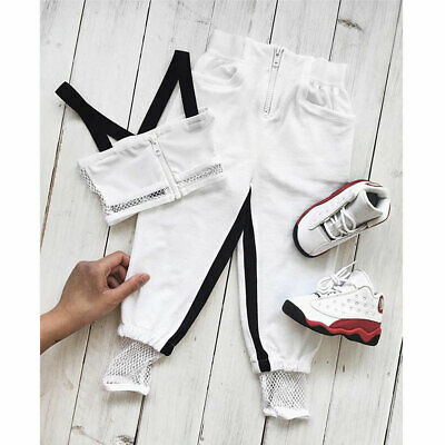 AU Infant Baby Girl Mesh Sling Top Shorts Pants Trousers 2PCS Outfit Clothes Set